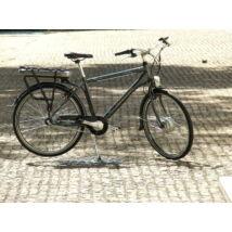 """Neuzer Pedelec e-City férfi antarcit/ezüst-cián elektromoskerékpár18"""""""