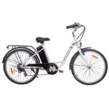 """Z-tech Pedelec Barcelona 26""""  fehér elektromoskerékpár 36V 9Ah"""