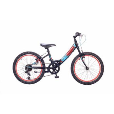 """Neuzer 20""""-os gyerek bicikli Maja 6S lány fekete/piros (matt)"""