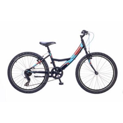 Kerékpár Neuzer Gyermek Maja 24 6S lány fekete/piros