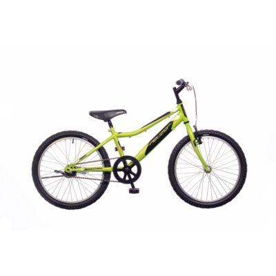 "Neuzer 20""-os gyerek bicikli Bobby 1S fiú neonzöld/fekete"