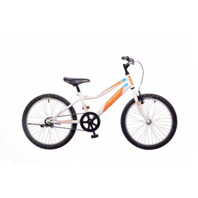 """Neuzer 20""""-os gyerek bicikli Bobby 1S fiú fehér/narancs"""