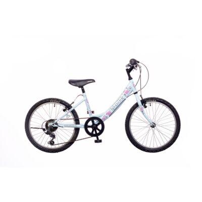 """Neuzer 20""""-os gyerek bicikli Cindy 1S világoskék/pink"""