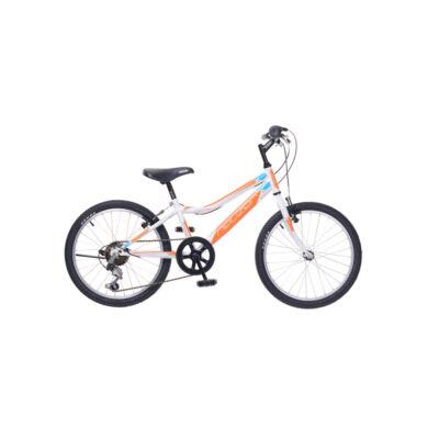 """Neuzer 20""""-os gyerek bicikli Bobby 6S fiú fehér/narancs"""