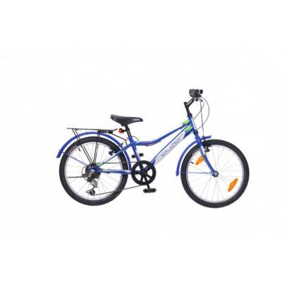 """Neuzer 20""""-os gyerek bicikli Bobby City 6S fiú kék/fehér"""