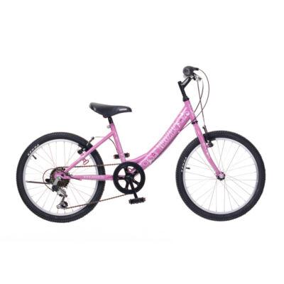 """Neuzer 20""""-os gyerek bicikli Cindy 6S lány pink"""