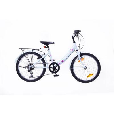 """Neuzer 20""""-os gyerek bicikli Cindy City 6S világoskék/pink"""