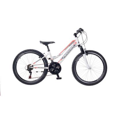 """Neuzer 20""""-os gyerek bicikli Mistral 6S lány fehér/szürke-piros"""