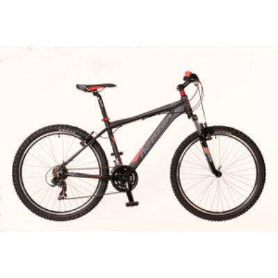 Kerékpár Neuzer MTB Storm férfi fekete/szürke- piros 17