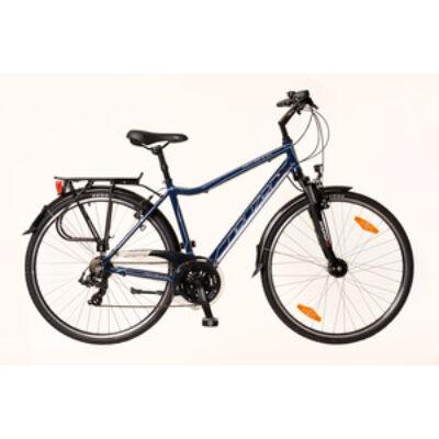Kerékpár Neuzer Trekking Ravenna 100 férfi navykék/ fehér-türkiz 21
