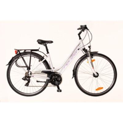 Kerékpár Neuzer Trekking Ravenna 100 női fehér/lila- szürke 19
