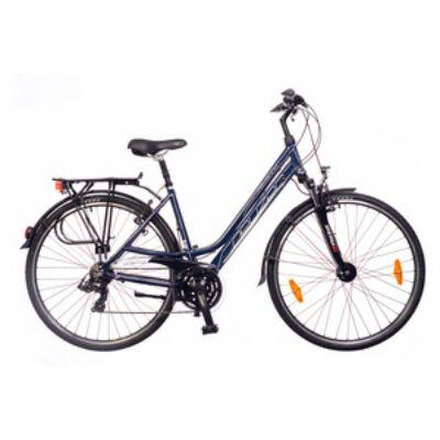 Kerékpár Neuzer Trekking Ravenna 100 női navykék/fehér- pink 17
