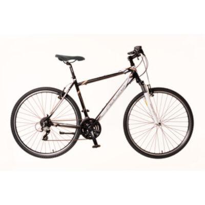 Kerékpár Neuzer Cross X2 férfi fekete/fehér-bronz 19