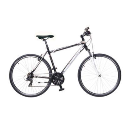 Kerékpár Neuzer Cross X1 férfi fekete/fehér-bronz 21