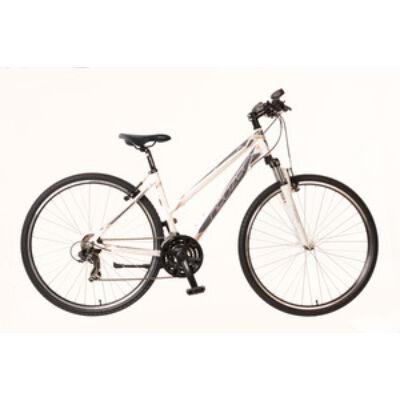 Kerékpár Neuzer Cross X1 női fehér/szürke-bronz 17