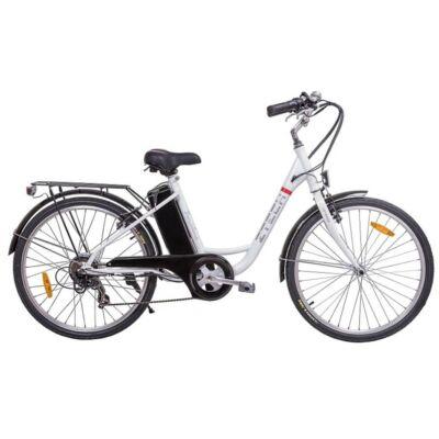 Z-tech Pedelec Barcelona fehér elektromoskerékpár 36V 9Ah