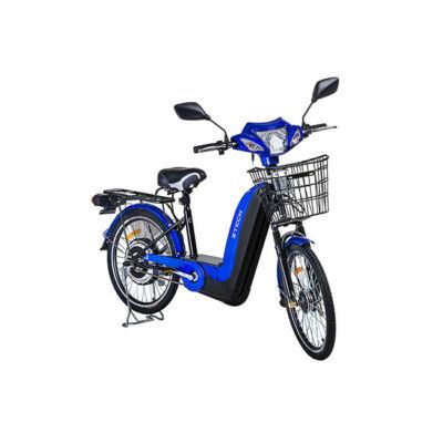 Kerékpár Z-tech ebike Laser ZT-02 Lítium 36V 12Ah kék