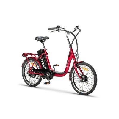 Kerékpár Z-tech ebike Camp ZT-07 Lítium 36V 10Ah piros