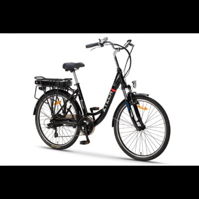 "Z-tech 26""-os Pedelec kerékpár ZT-34 Verona 36V/10Ah/250W fekete"