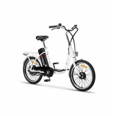 """Z-tech 20""""-os Pedelec kerékpár ZT-07 Camp Lítium 36V/250W/9Ah fehér"""