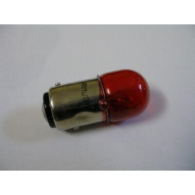 Velox alkatrész izzó hátsó 40V/10W/5W két pólusú piros