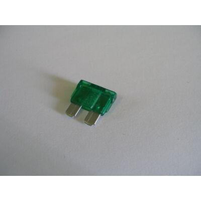 Velox alkatrész biztosíték 30A lapos zöld