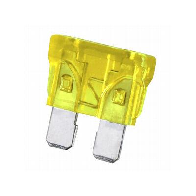 Velox alkatrész biztosíték 20A lapos sárga