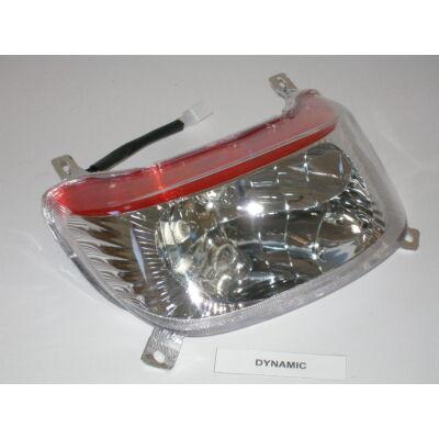Velox alkatrész lámpa első Dynamic 08