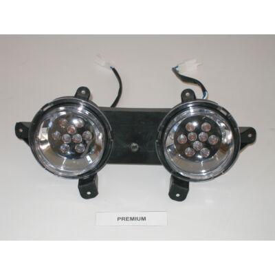 Velox alkatrész lámpa első Premium 2010 LED-es