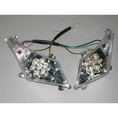 Velox alkatrész lámpa első Partner02 LED-es /pár