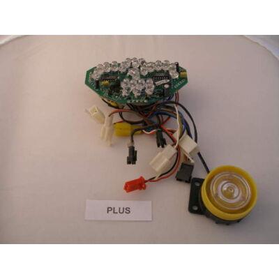 Velox alkatrész műszerfal Plus 06, Lady06 LED-es