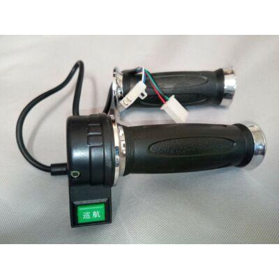 Velox alkatrész gázkar kapcsolóval fekete