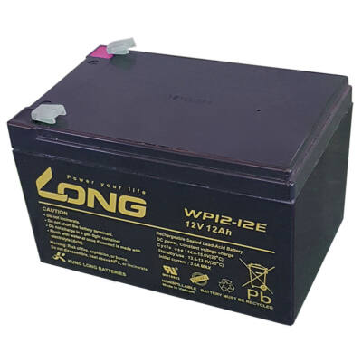 Velox alkatrész akkumulátor 12V/12 Ah Long