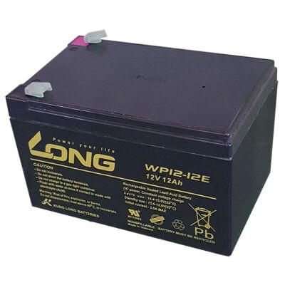 Velox alkatrész akkumulátor Long 12V/12Ah