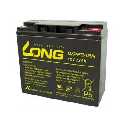 Velox alkatrész akkumulátor Long 12V/22Ah