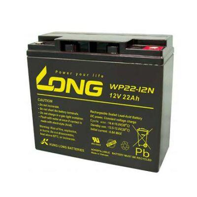 Velox alkatrész akkumulátor Long 12V/22Ah (181*76*167)