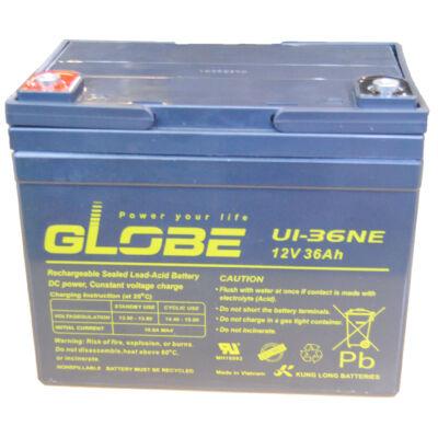 Velox alkatrész akkumulátor 12V/36Ah Globe