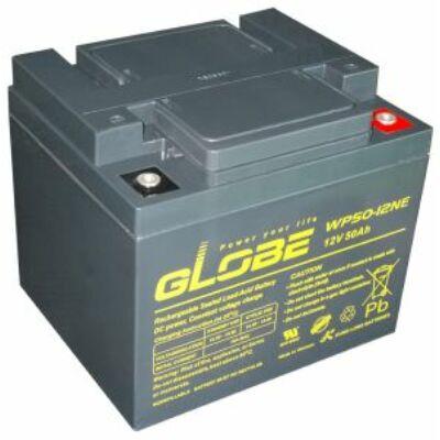 Velox alkatrész akkumulátor 12V/50Ah Globe