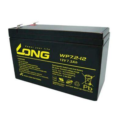 Velox alkatrész akkumulátor 12V/7,2Ah Long (151*64*94)