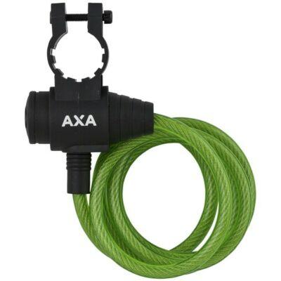 Zár spirál AXA 8X1200MM ZIPP zöld