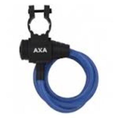 Zár spirál AXA 8X1200MM ZIPP kék