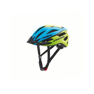 Bukósisak CRATONI Pacer Blue-Lime Matt XS-S