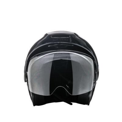 Zeusz motorkerékpár bukósisak Met. Fekete, XL