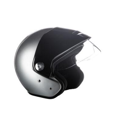 Zeusz motorkerékpár bukósisak Ezüst, XL