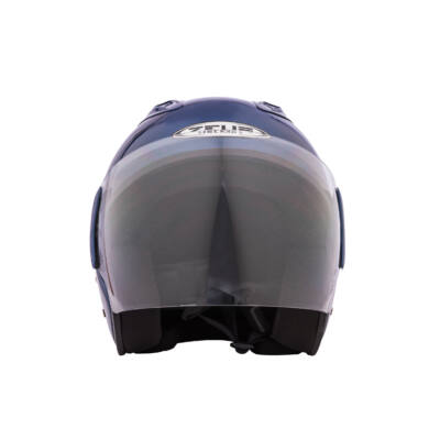 Zeusz motorkerékpár bukósisak, Kék, XL