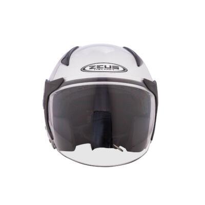 Zeusz motorkerékpár bukósisak, Fehér M