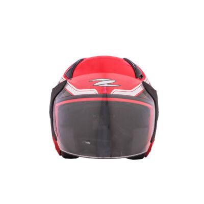Zeusz motorkerékpár bukósisak, Piros, XL