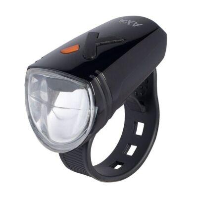 Lámpa első elemes tölthető 15LUX AXA Greenline15 AM