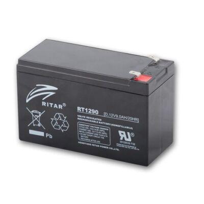 Velox alkatrész akkumulátor 12V/9Ah Ritar