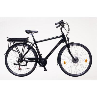 "Neuzer Pedelec E-Trekking Zagon Bafang motorral férfi fekete/bronz/kék 19"""